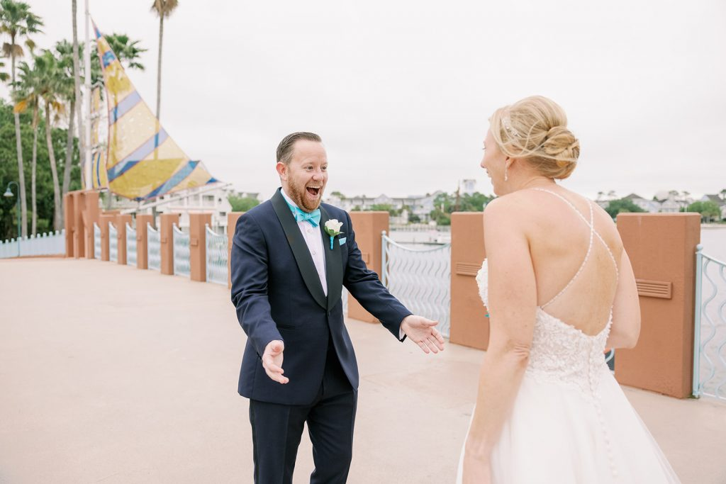 Nautical Wedding - Just Marry Weddings - KMD Photo and Film - First Look