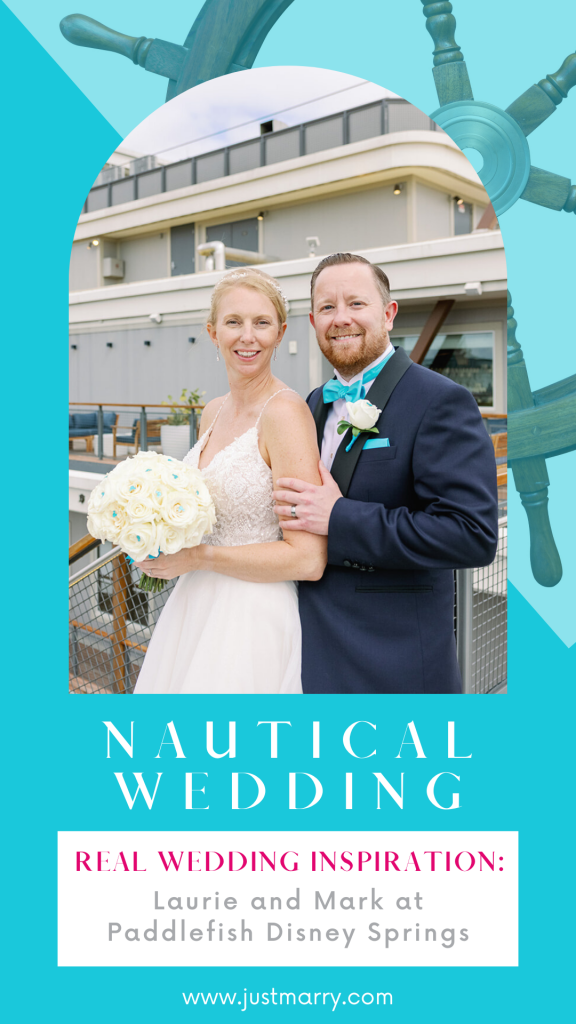 Nautical Wedding - Just Marry Weddings - KMD Photo and Film - Pinterest Graphic