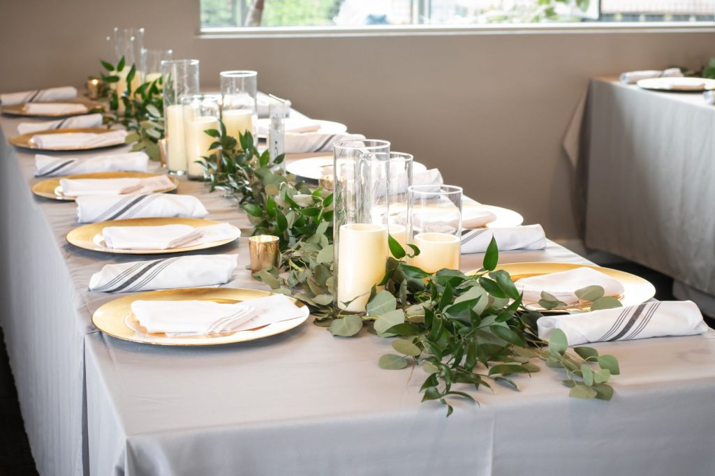 New Year's Wedding - Just Marry Weddings - Nova Imagery - Reception Table