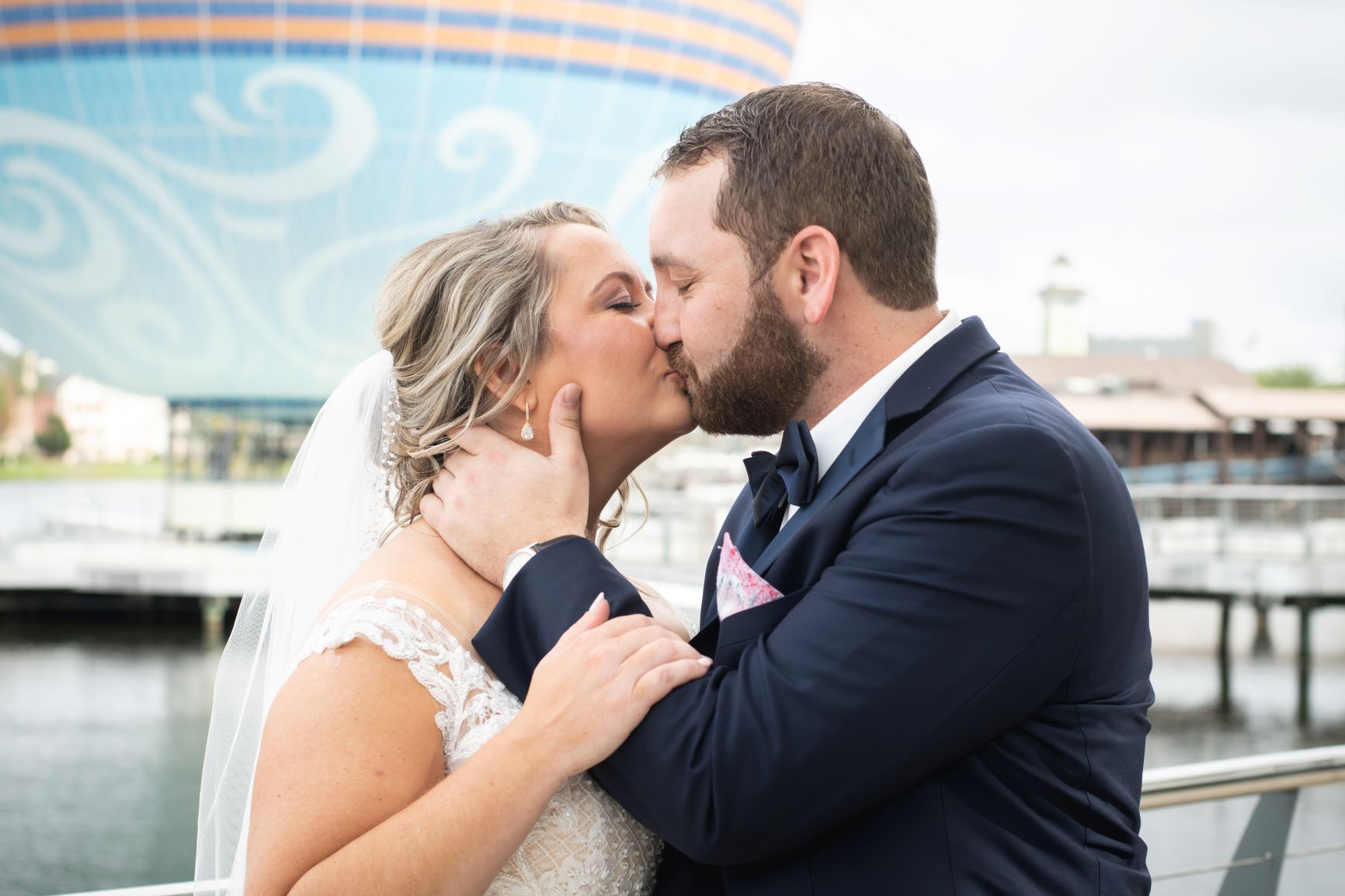 Romantic New Year's Wedding   Alyssa and Daniel at Paddlefish Disney Springs