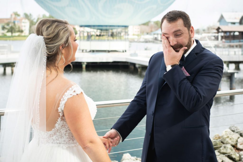 New Year's Wedding - Just Marry Weddings - Nova Imagery - First Look