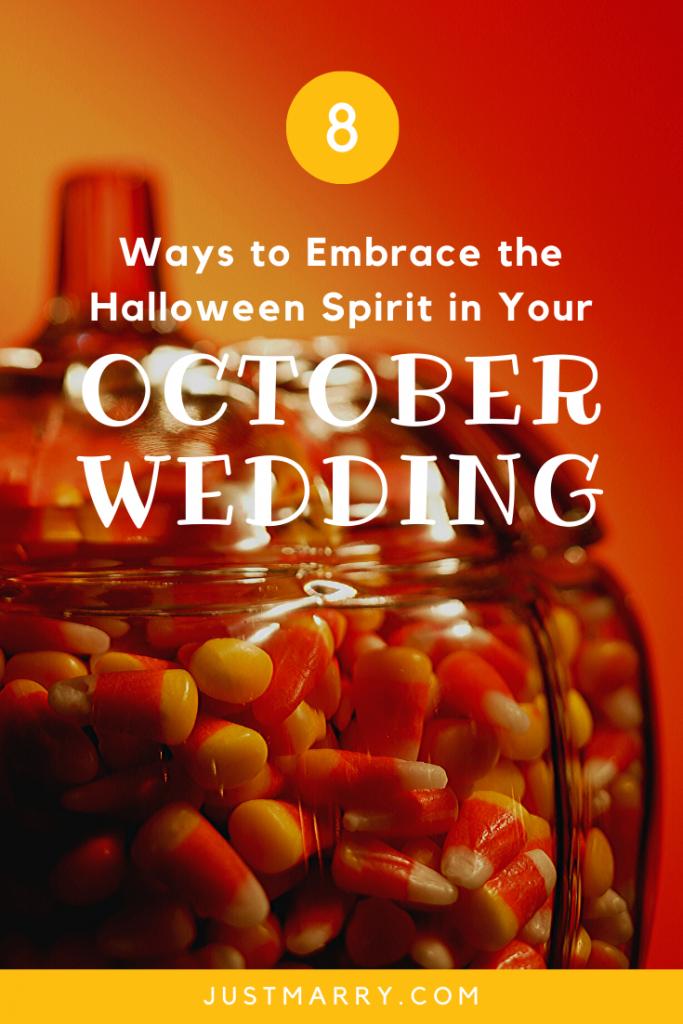 October Wedding - Just Marry Weddings