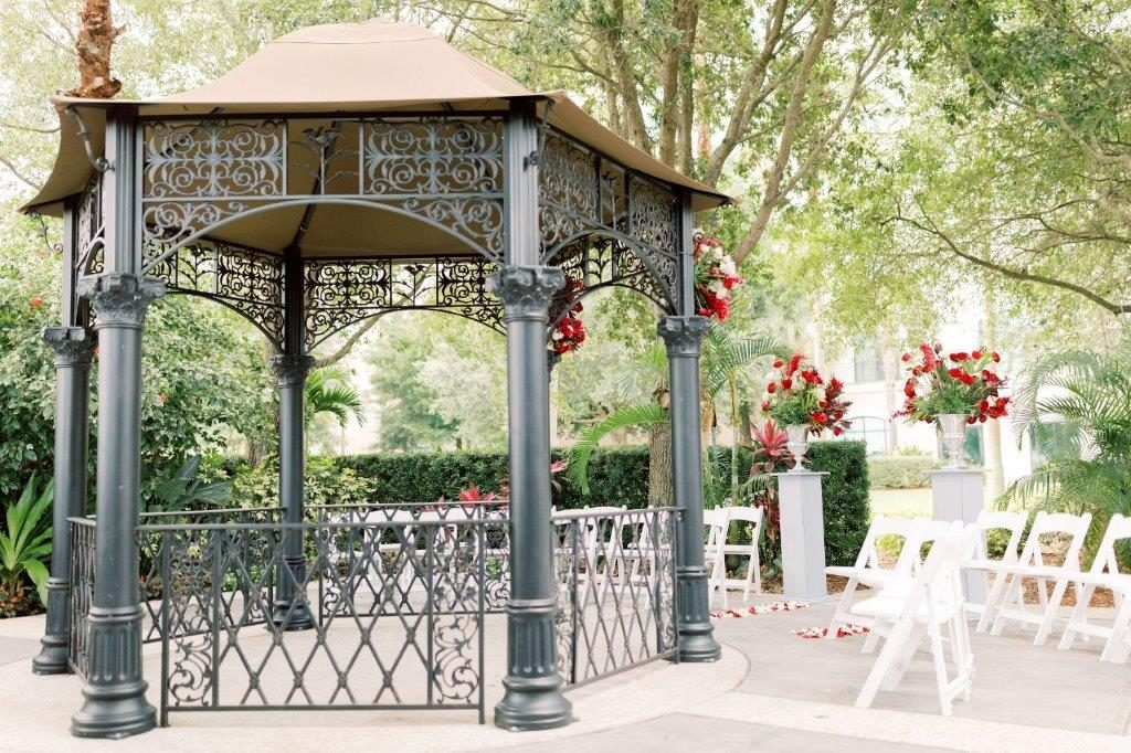 Omni Orlando Resort - Garden Gazebo 3 - Just Marry Weddings