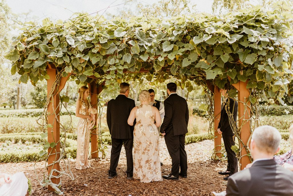 Garden Wedding - Just Marry Weddings - Josie Brooks Photography - Ceremony