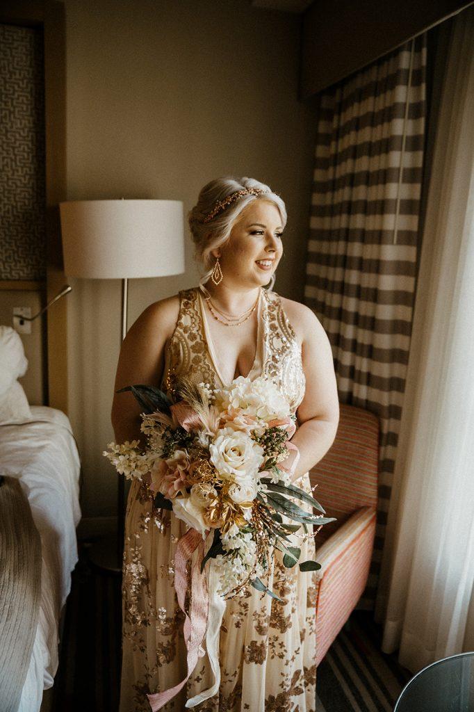 Garden Wedding - Just Marry Weddings - Josie Brooks Photography - Bride