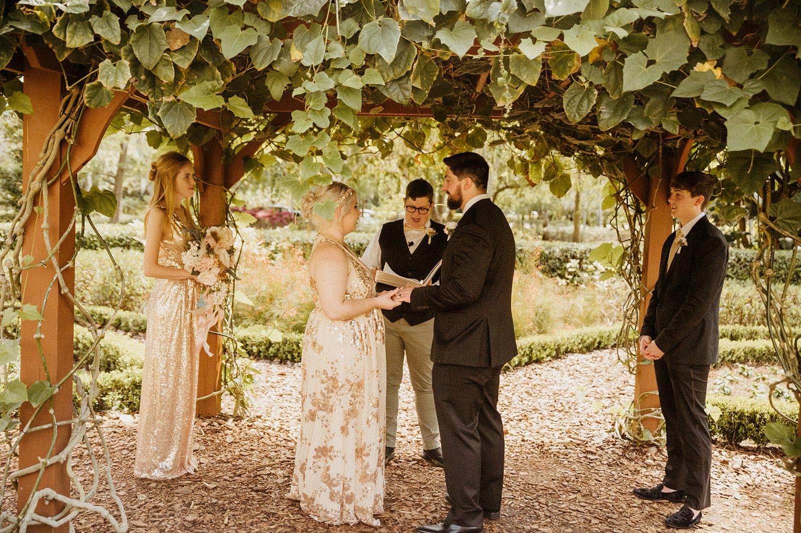 Orlando Garden Wedding | Leah and Logan at the Hard Rock Hotel