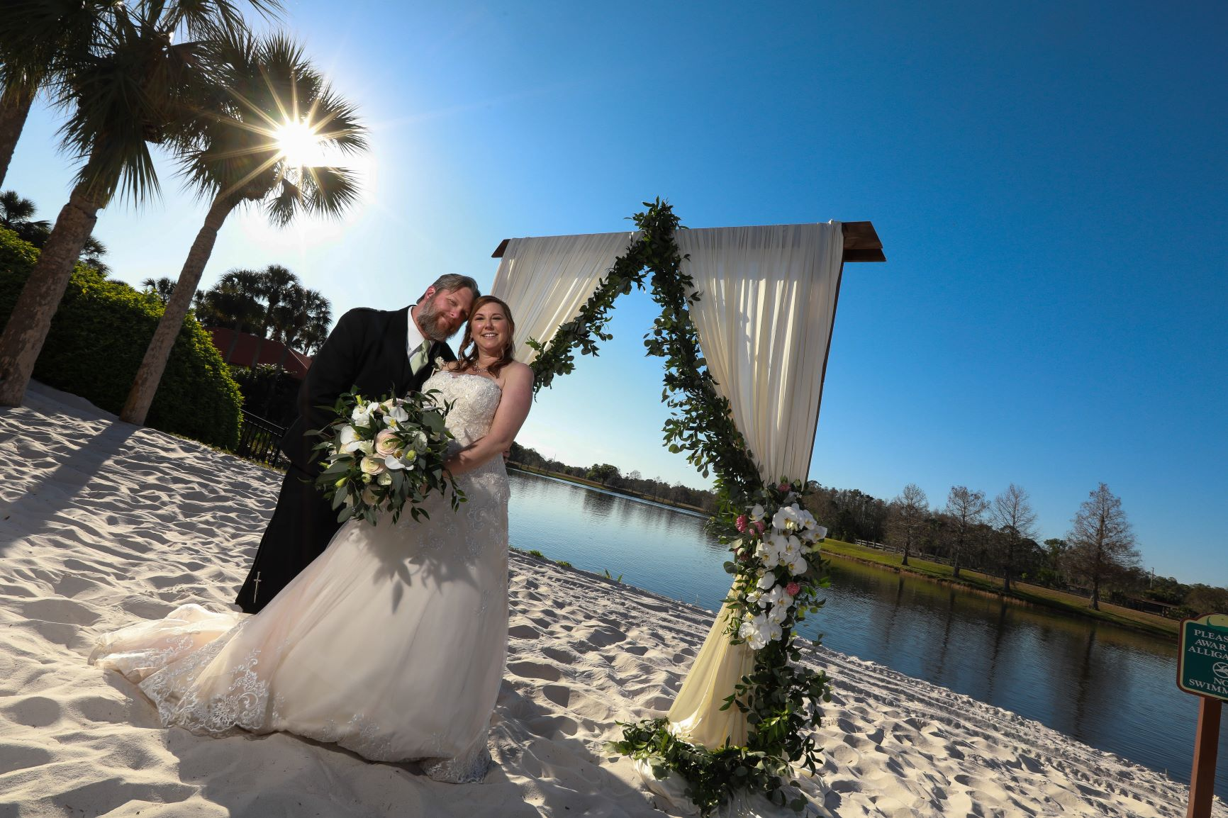Orlando Wedding Packages | Angie and Ken at the Hyatt Regency Grand Cypress