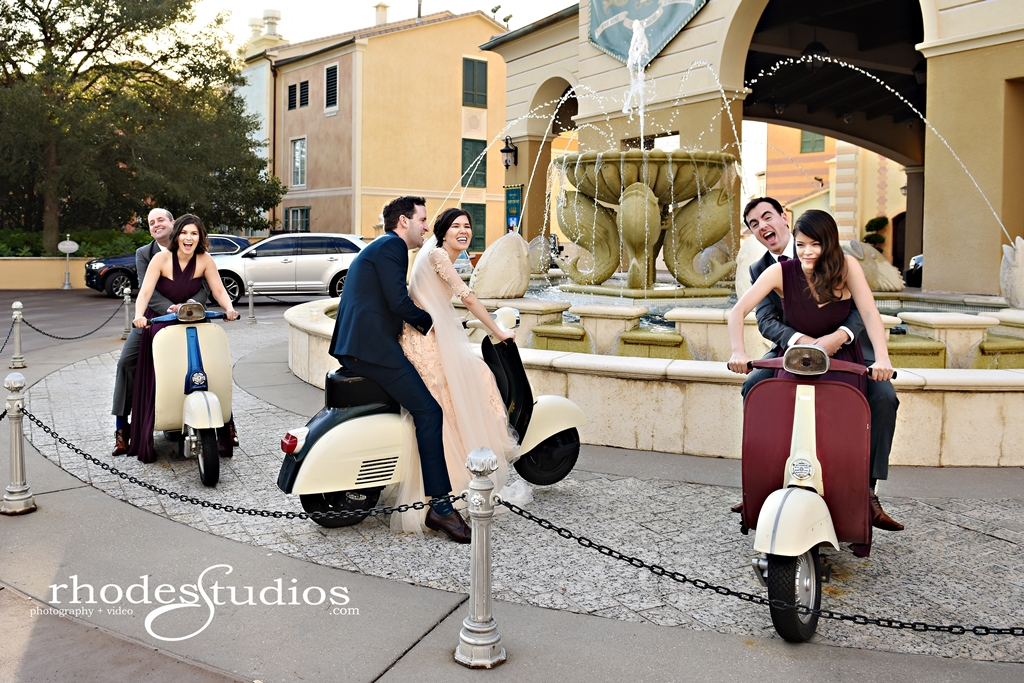 Orlando Wedding Venues | Portofino Bay Hotel Wedding of Kelsey and Eoin