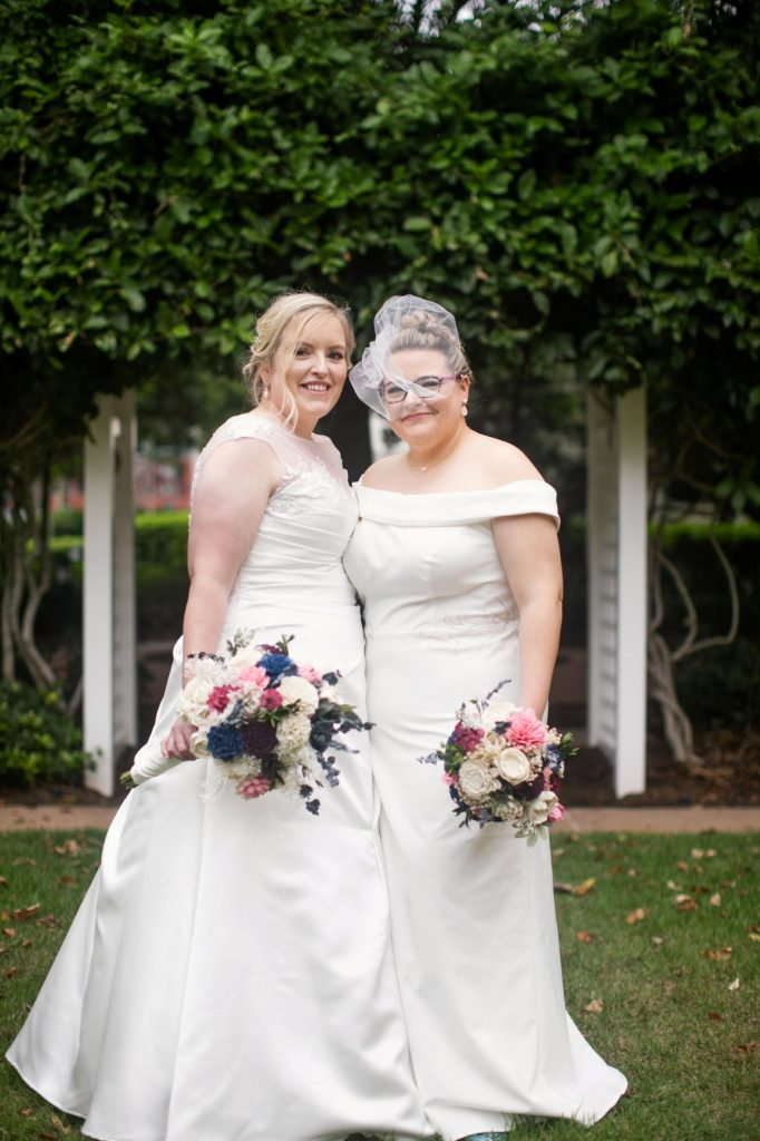 Rainy Day Wedding - Just Marry Weddings - Roots Photography - The Brides