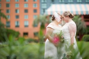 Rainy Day Wedding - Just Marry Weddings - Roots Photography - Two Brides