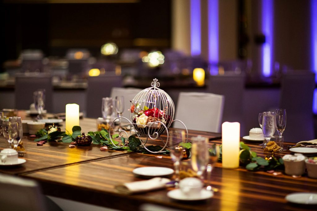 Rainy Day Wedding - Just Marry Weddings - Roots Photography - Reception Table