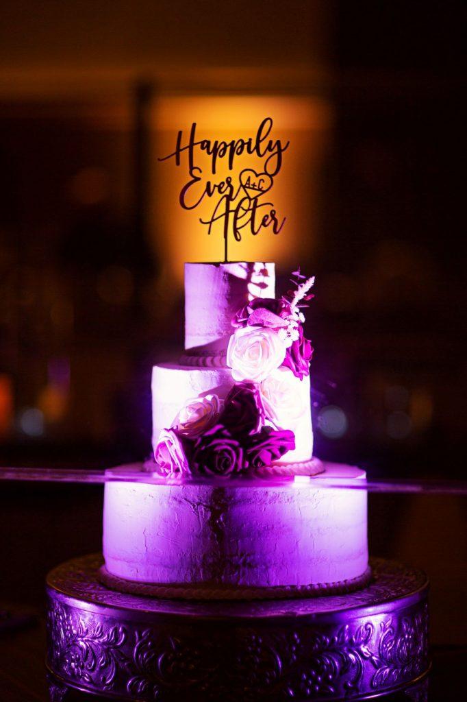 Rainy Day Wedding - Just Marry Weddings - Roots Photography - Wedding Cake