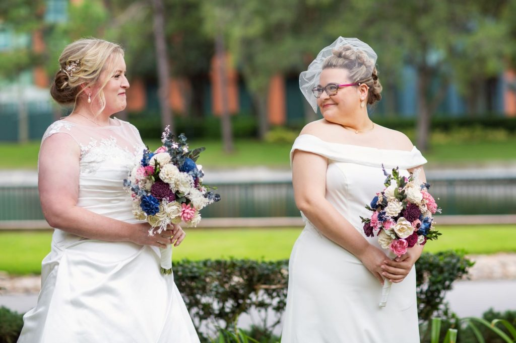 Rainy Day Wedding - Just Marry Weddings - Roots Photography - First Look