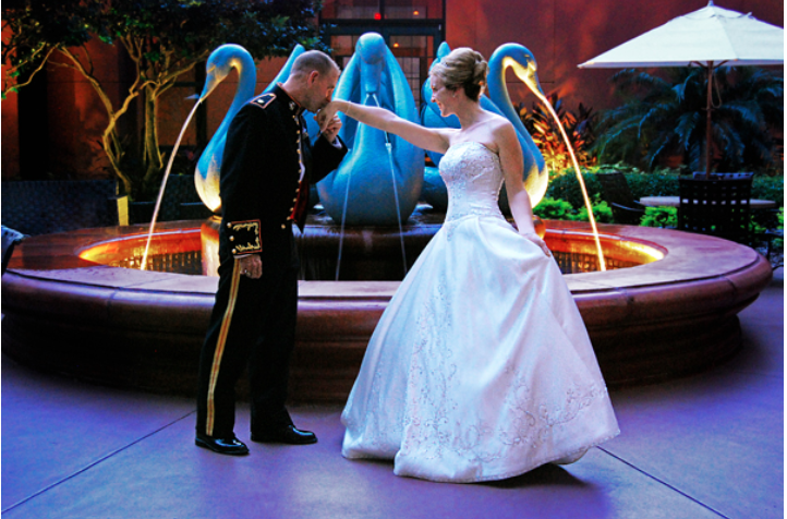 Five Military Wedding Traditions You Might Not Know