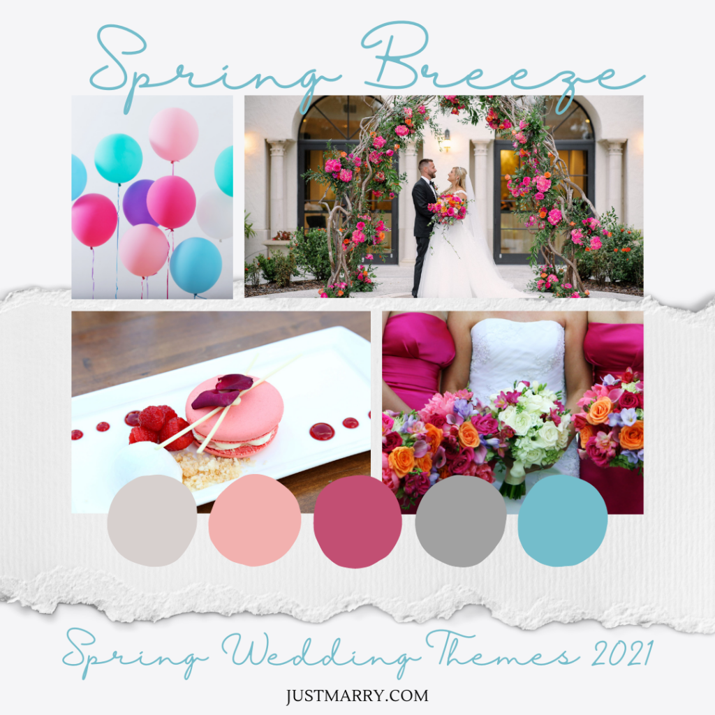 Spring Wedding Themes 2021 - Mood Boards (Spring Breeze)