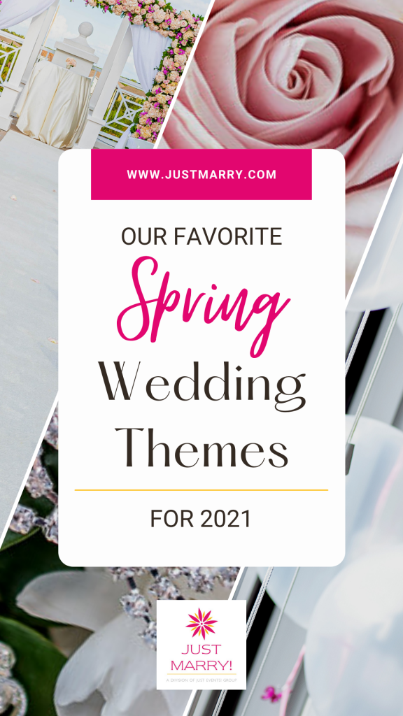 Spring Wedding Themes 2021