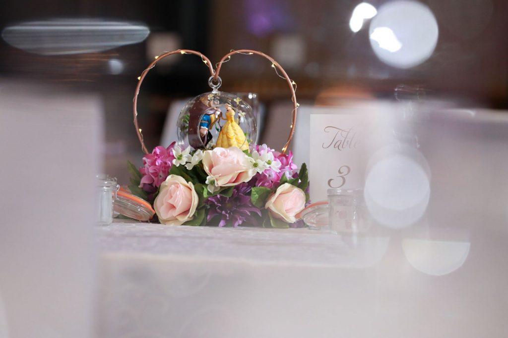 Swan Wedding - Just Marry Weddings - Live Happy Studio - Centerpieces