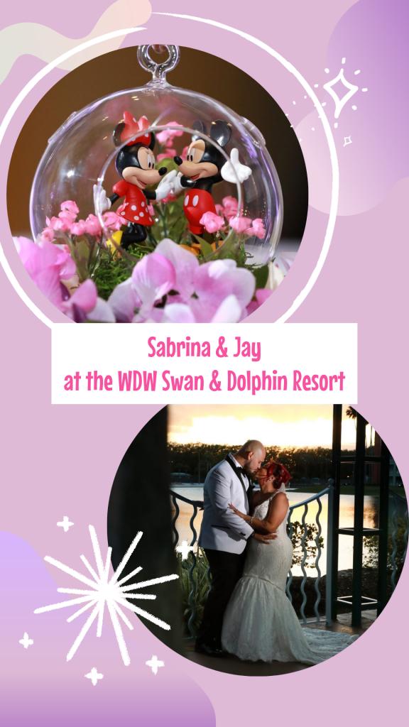 Swan Wedding - Just Marry Weddings - Live Happy Studio - Pinterest Graphic