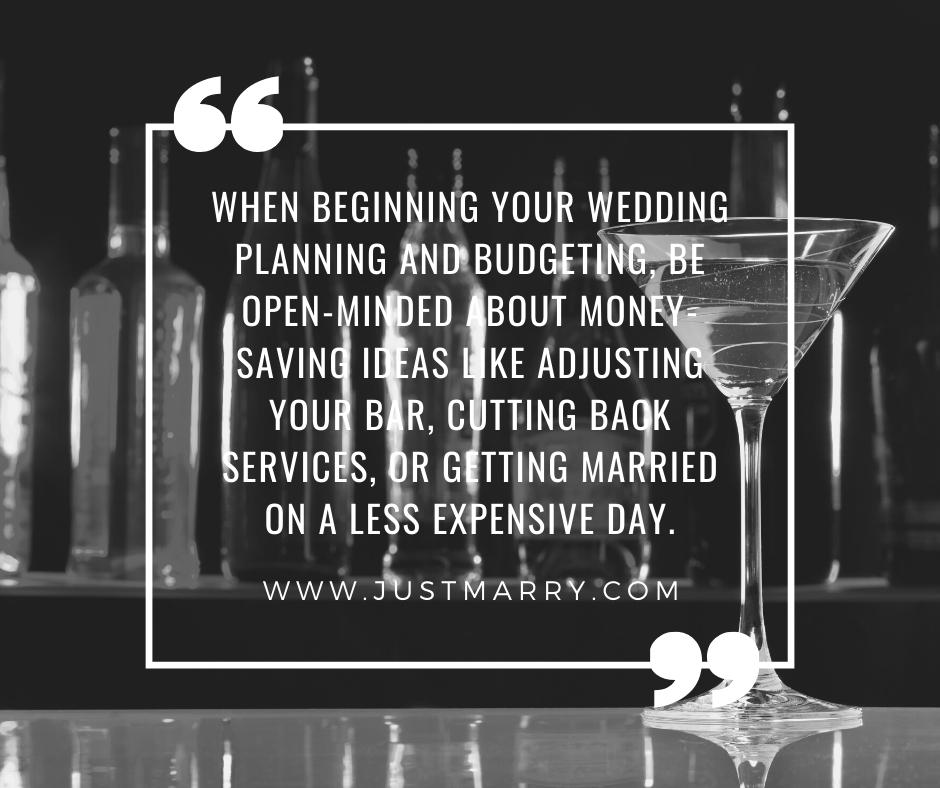 Talking About Money - Just Marry Weddings