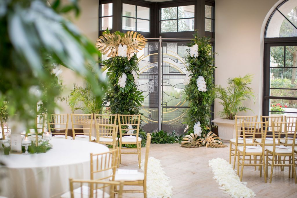 Tropical Wedding - Just Marry Weddings - PB&J Studios - Ceremony