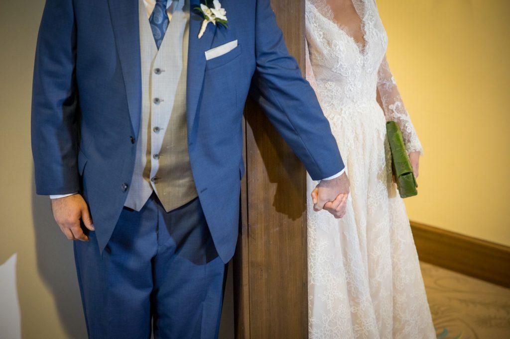 Tropical Wedding - Just Marry Weddings - PB&J Studios - First Look