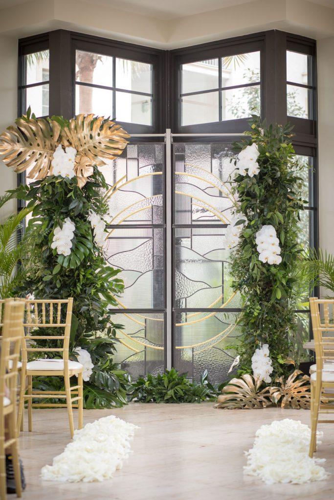 Tropical Wedding - Just Marry Weddings - PB&J Studios - Decor