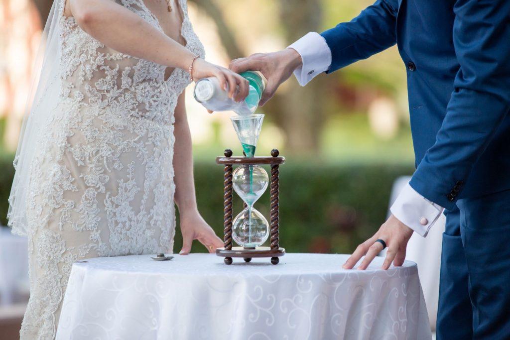 Tropical Wedding - Just Marry Weddings - PB&J Studios - Unity Ceremony