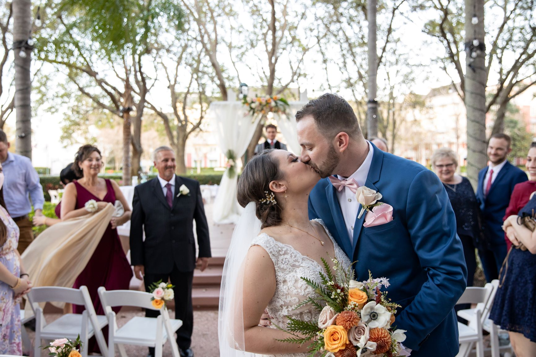 Stunning Tropical Wedding | Angela and Ryan at the WDW Swan and Dolphin