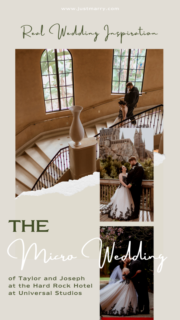 Micro Wedding - Just Marry Weddings - Thirty-Three and a 3rd Photography - Pinterest Graphic