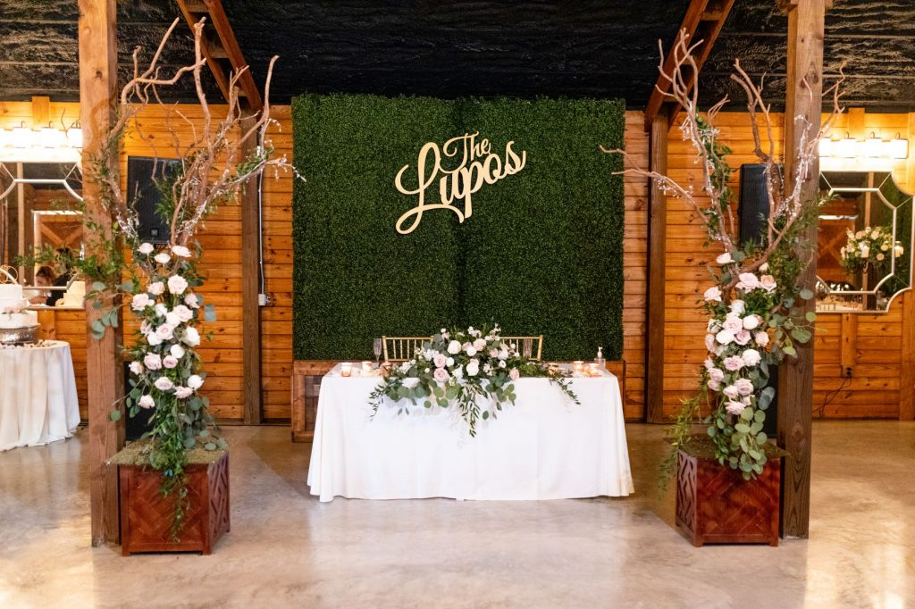 Wedding Backdrop Ideas - Just Marry Weddings - BLB Hacienda - Angelika Krug Photography - Hedge Wall