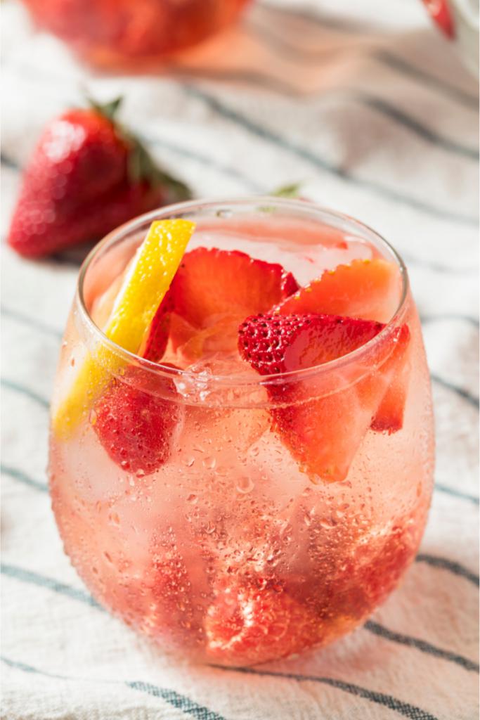 Wedding Cocktails - Just Marry Weddings - Berry Sangria