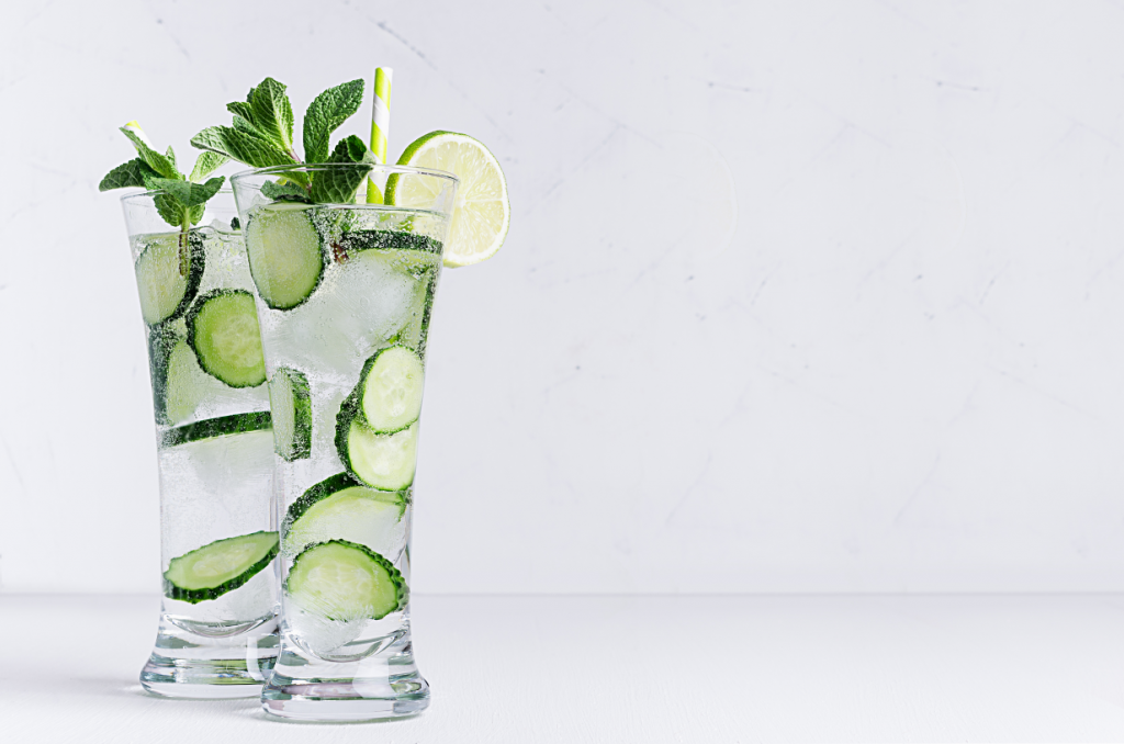 Wedding Cocktails - Just Marry Weddings - Cucumber Mint