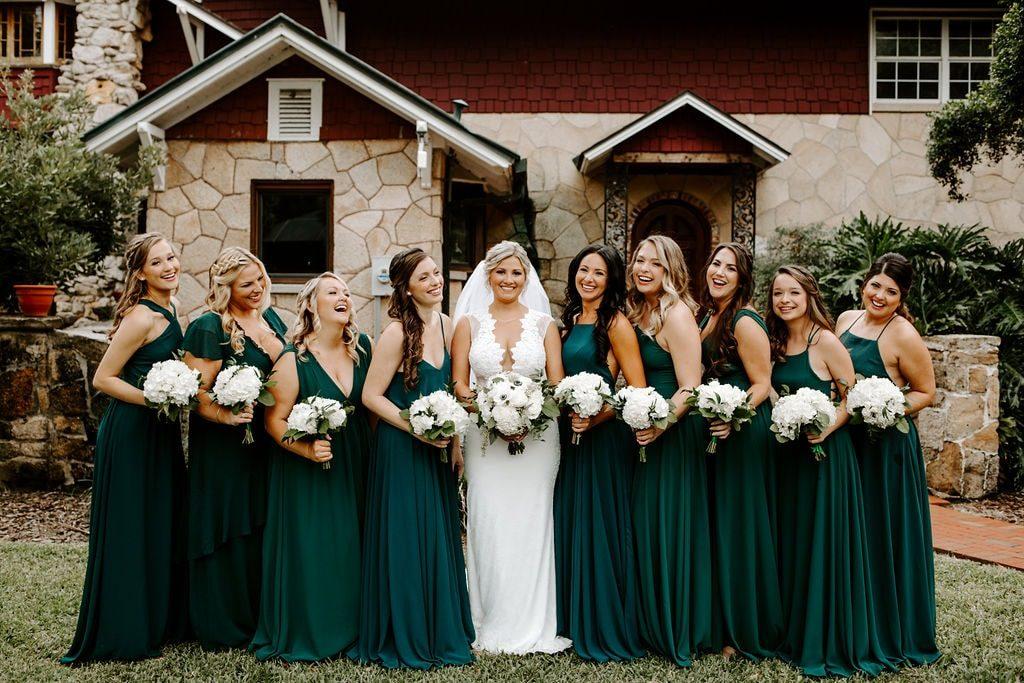 Wedding Color Scheme Bridesmaids Dresses - Just Marry Weddings - Photos With Jill