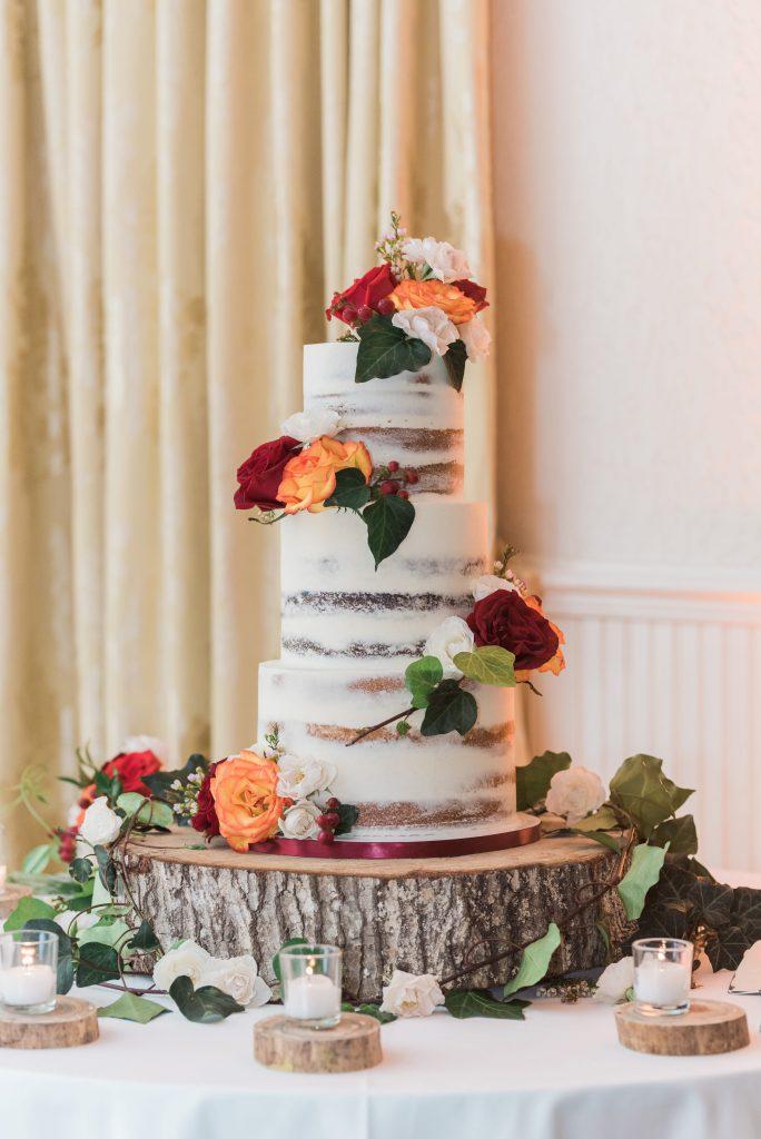 Wedding Color Scheme Cake - Just Marry Weddings - Edward Lian Photography