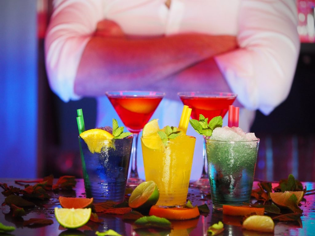 Wedding Color Scheme Cocktails - Just Marry Weddings