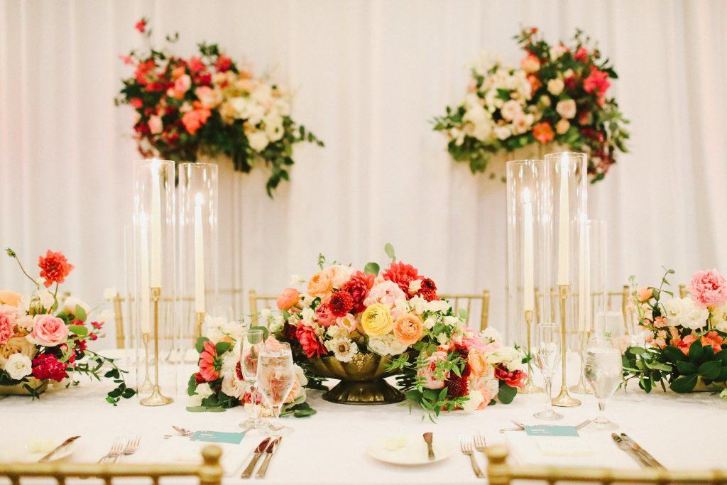 Wedding Color Scheme Floral - Just Marry Weddings - Wesley & Emma