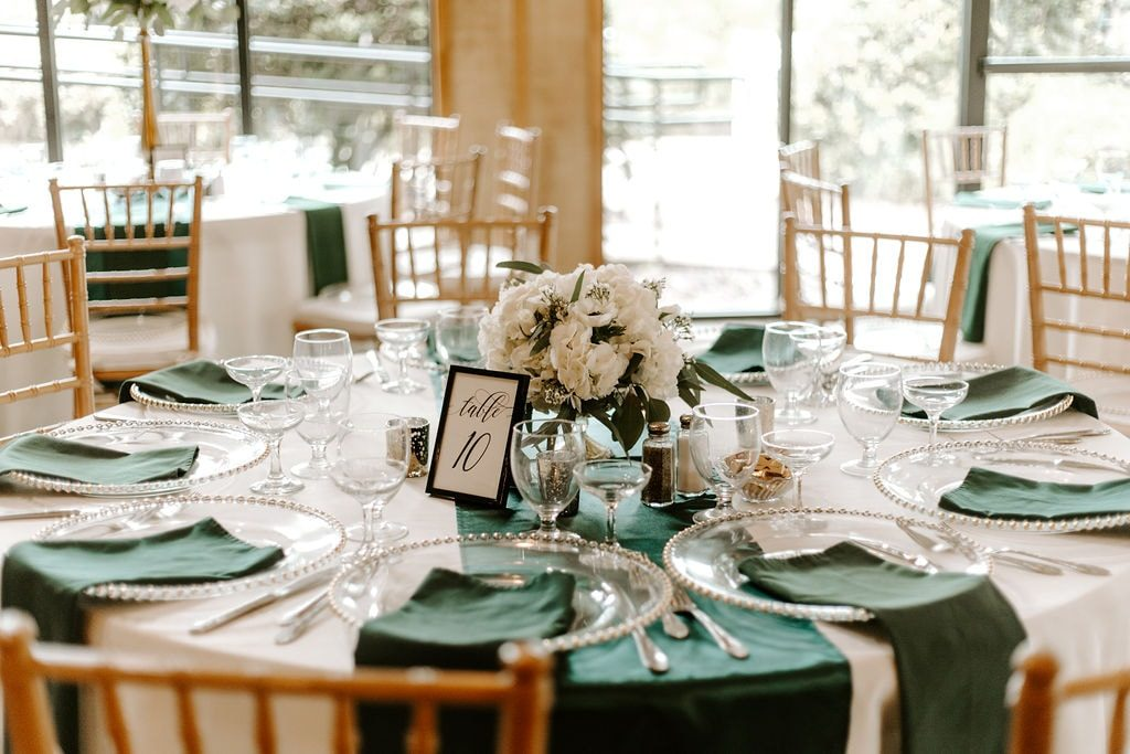Wedding Color Scheme Napkins - Just Marry Weddings - Photos With Jill