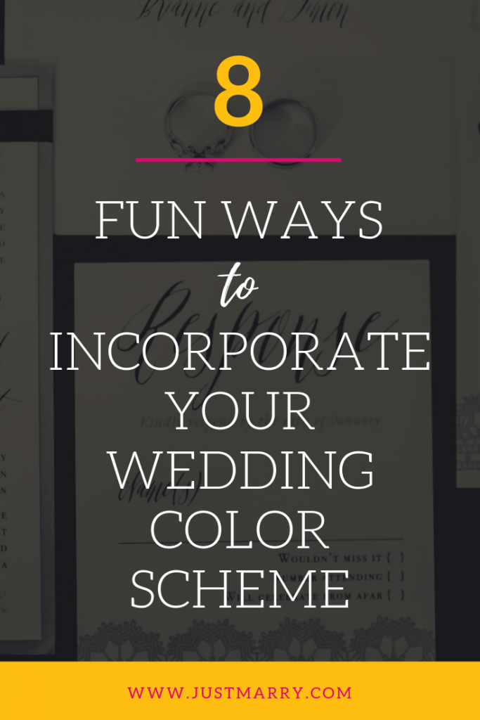 Wedding Color Scheme Pinterest - Just Marry Weddings