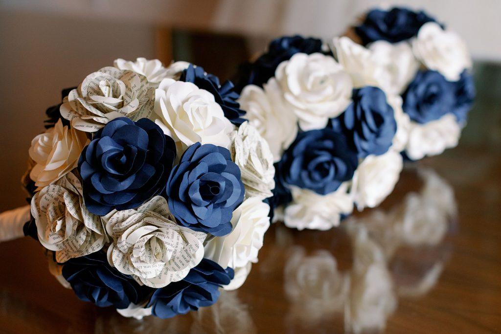 Wedding Flower Alternatives - Just Marry Weddings - Paper Flowers