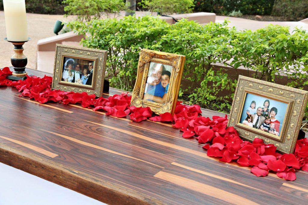 Wedding Memorial Ideas - Just Marry Weddings - Regina Hyman Photography - Memorial Table
