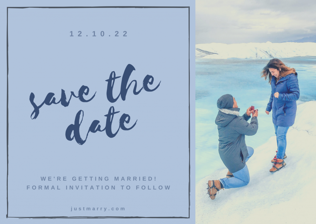 Wedding Stationery - Just Marry Weddings - Save the Date