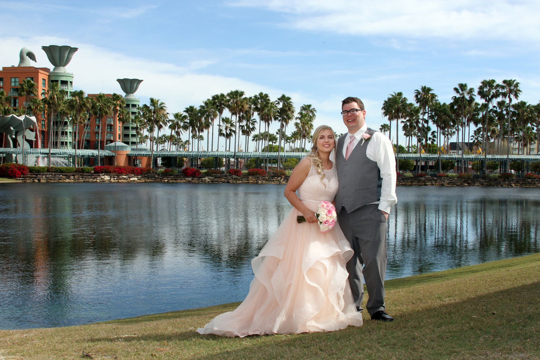 Disney Weddings Florida | WDW Swan and Dolphin Wedding